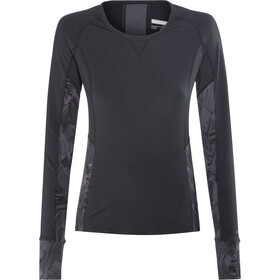 Marmot Lana LS Crew Shirt Women Black/Thrasher